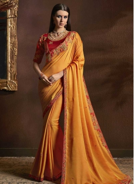 Silk Georgette Traditional Saree