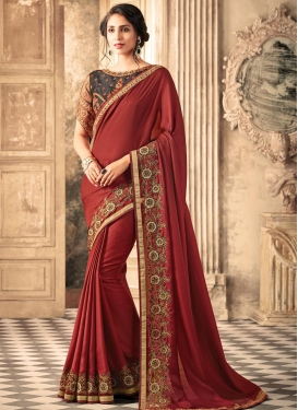 Silk Georgette Trendy Classic Saree