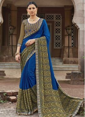 Silk Georgette Trendy Classic Saree