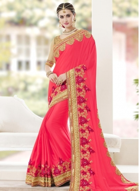 Silk Georgette Trendy Saree