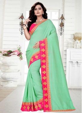 Silk Georgette Trendy Saree