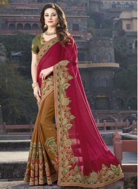 Silk Half N Half Saree