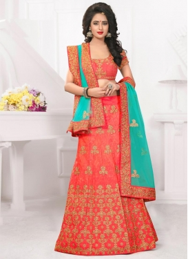 Silk Lehenga Choli For Ceremonial