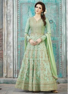 Silk Long Length Salwar Kameez