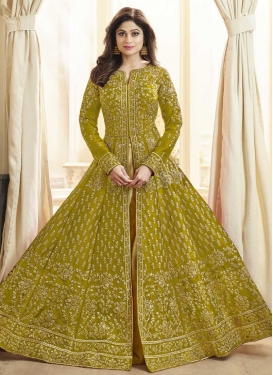 Silk Long Length Trendy Salwar Suit