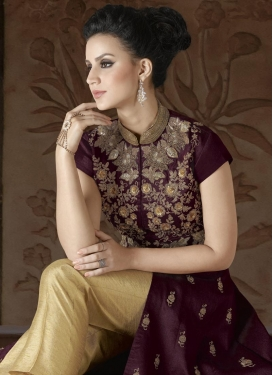 Silk Pant Style Designer Salwar Kameez