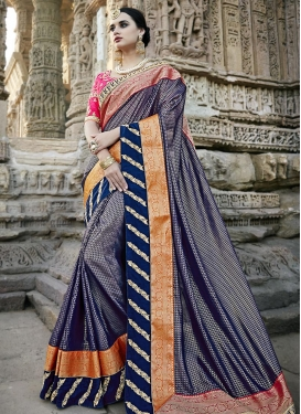Silk Trendy Classic Saree For Festival