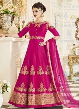 Silk Trendy Designer Salwar Kameez