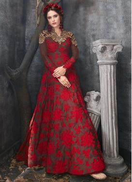 Silk Trendy Designer Salwar Suit