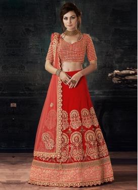 Silk Trendy Lehenga Choli