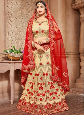 Silk Trendy Lehenga Choli For Bridal