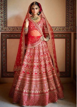 Silk Trendy Lehenga For Bridal