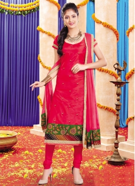 Silk Trendy Salwar Suit For Festival