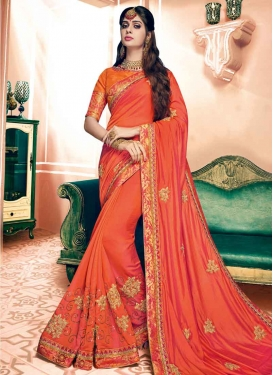 Silk Trendy Saree For Ceremonial