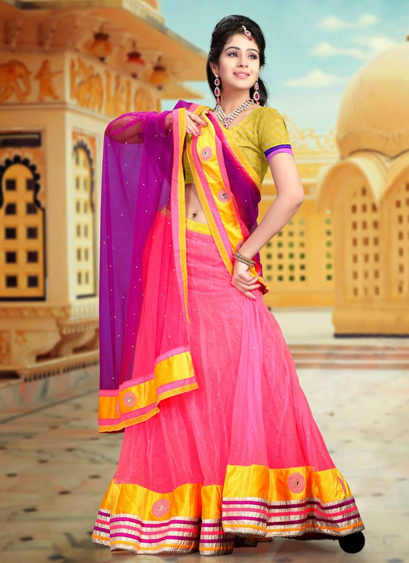 Silver Zardosi Work Party Wear Lehenga Choli