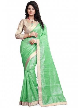 Simplistic Crepe Jacquard Party Wear Saree