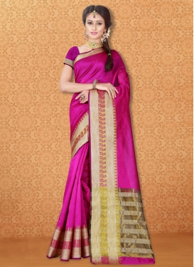 Simplistic Thread Work Trendy Classic Saree