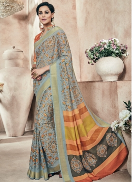 Sonorous Art Silk Printed Party Wear Saree