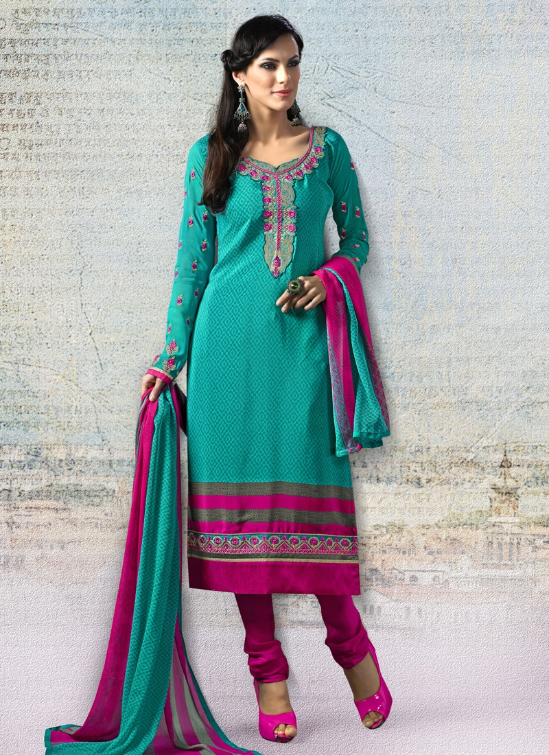 Sophisticated Crepe Silk Casual Salwar Suit