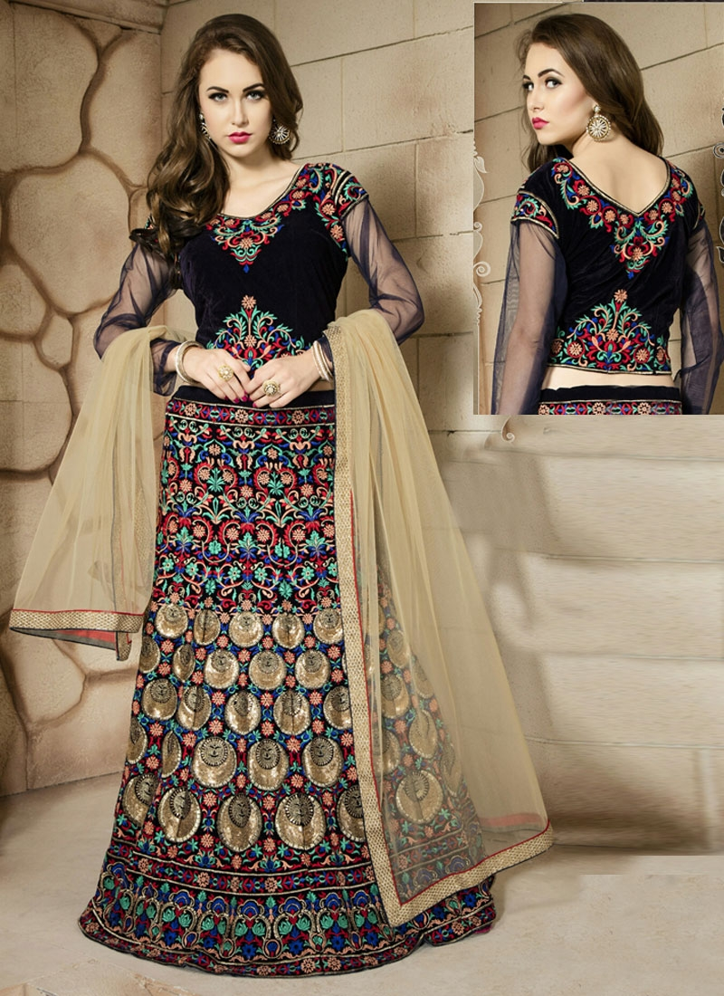 Sophisticated Sequins Work Designer Lehenga Choli