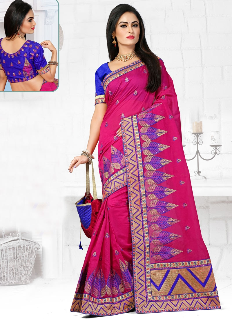 Sophisticated Stone Work Designer Saree