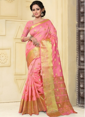 Sophisticated Thread Work  Traditional Saree