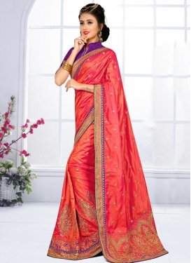 Sorcerous Contemporary Saree For Festival