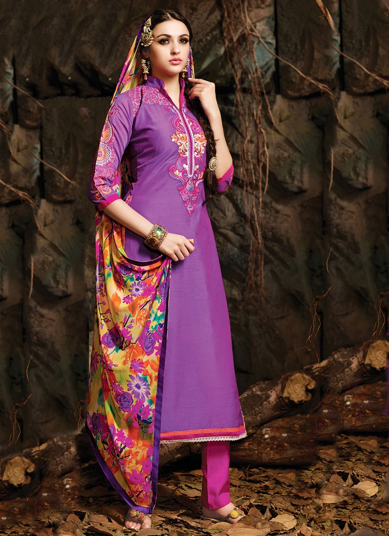 Sorcerous Resham Work Pant Style Casual Salwar Kameez