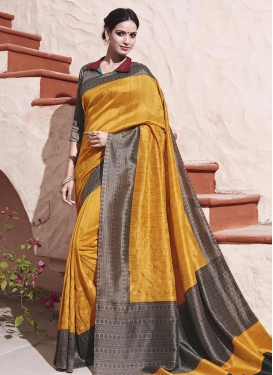 Sparkling Art Silk Contemporary Saree