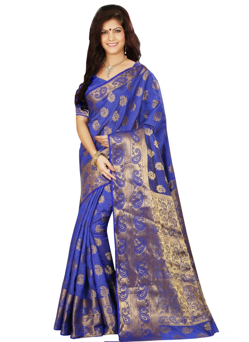 Sparkling Art Silk Party Wear Saree