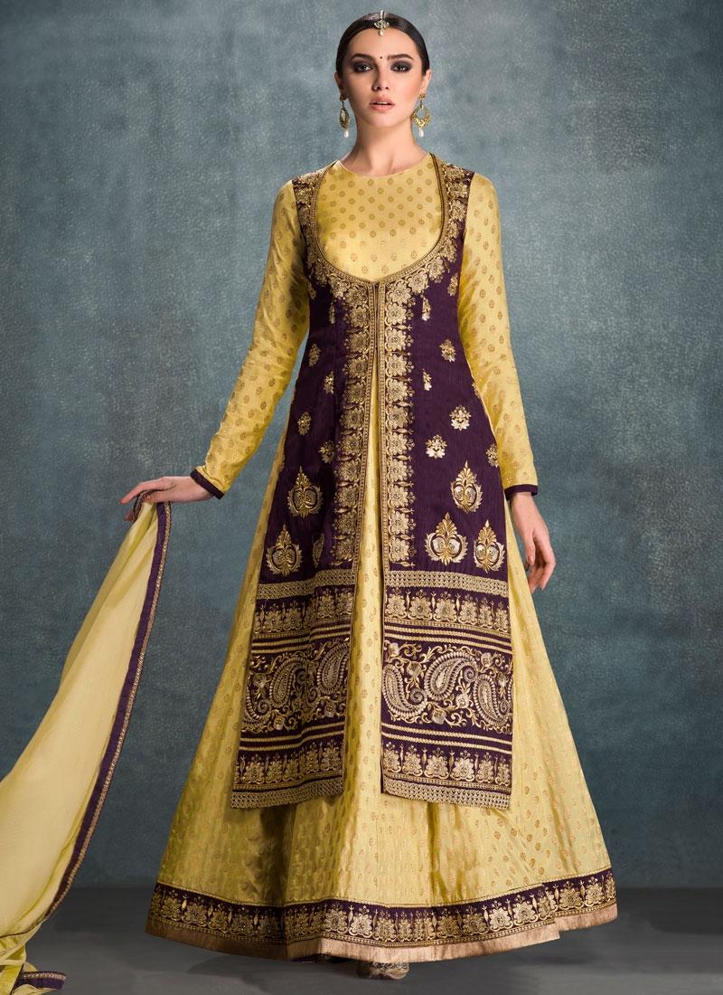 Specialised Banglori Silk Designer Salwar Kameez