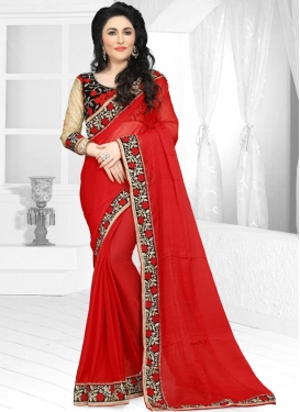 Specialised Embroidered Work Traditional Saree