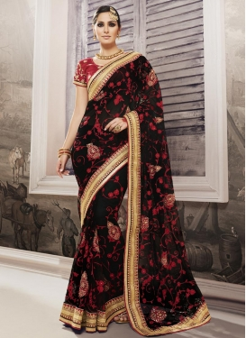 Specialised Net Contemporary Style Saree