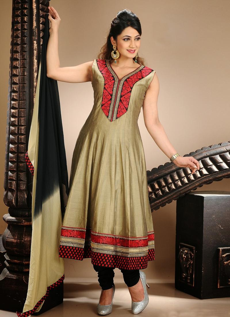 Spectacular Karachi Work Readymade Salwar Suit