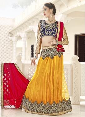 Spectacular  Net Trendy Lehenga Choli