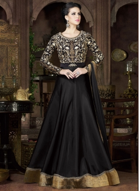 Spellbinding Embroidered Work Floor Length Anarkali Suit