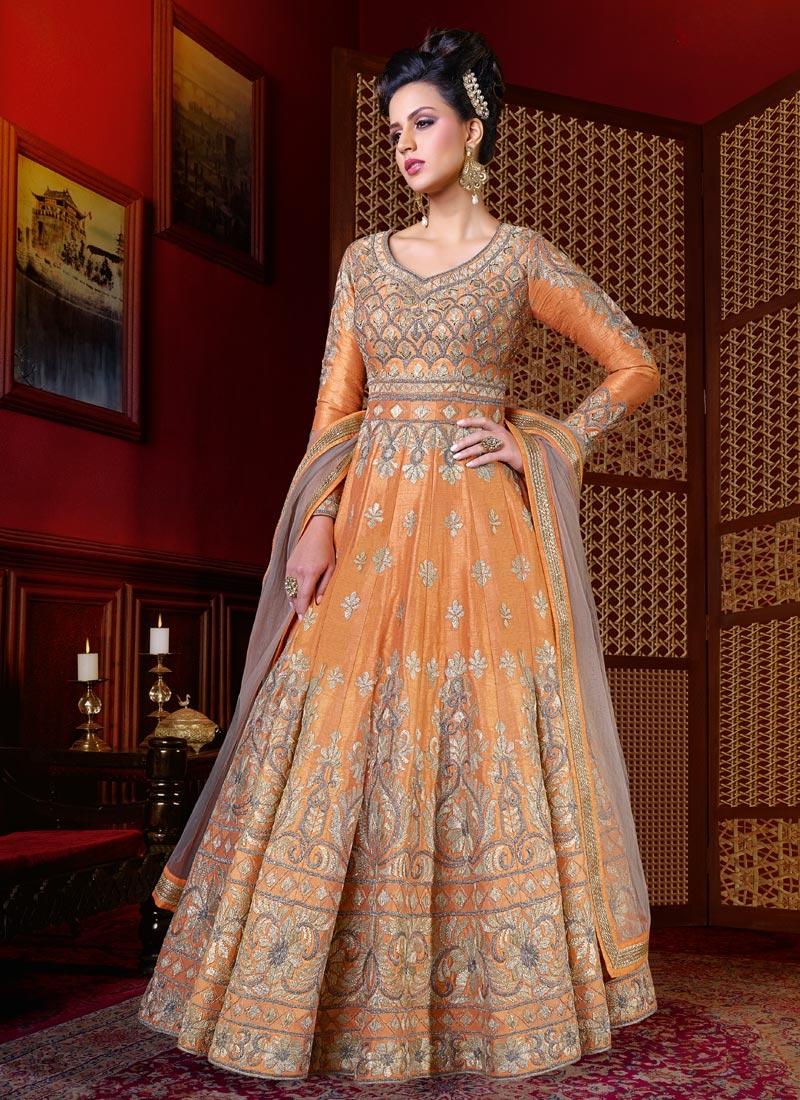 Spellbinding Floor Length Anarkali Suit For Festival