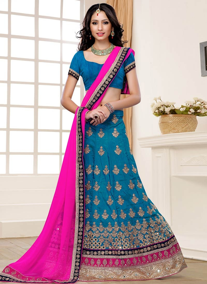 Splendid Art Silk Wedding Lehenga Choli