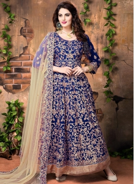Splendid Banglori Silk Floor Length Anarkali Salwar Suit
