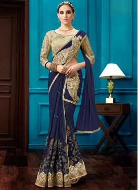 Staggering Net Traditional Designer Saree