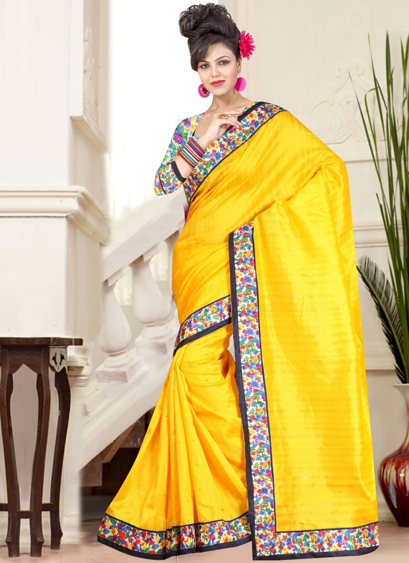 Sterling Stone Work Casual Saree