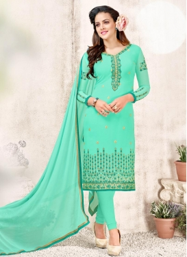 Straight Salwar Kameez For Ceremonial