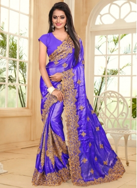Strange Designer Traditional Saree For Ceremonial