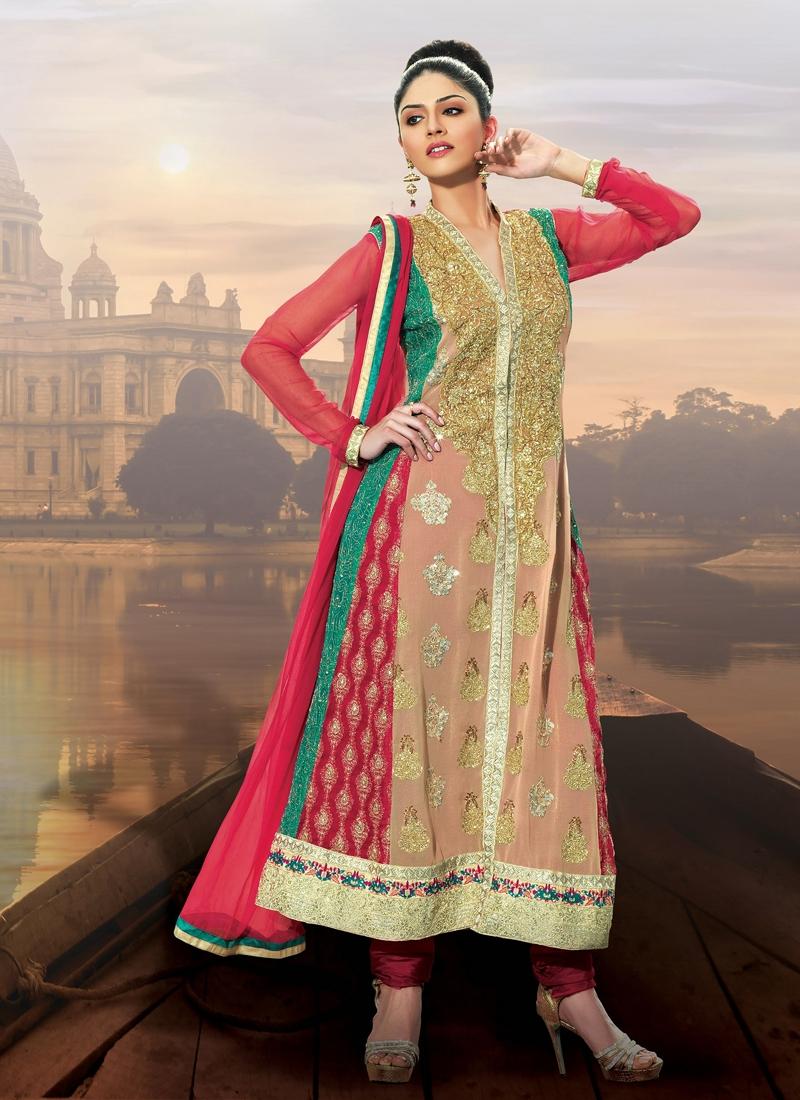 Striking Sequins Work Designer Salwar Kameez