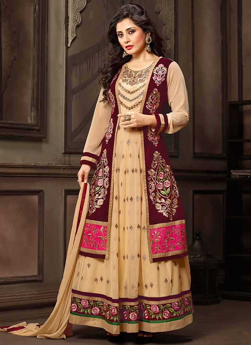 Suave Booti Work Long Length Designer Salwar Suit