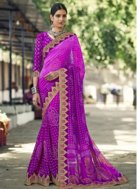 Subtle  Trendy Classic Saree For Ceremonial