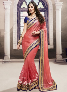 Sumptuous Contemporary Style Saree For Festival