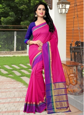 Sunshine Banarasi Silk Thread Work Traditional Saree