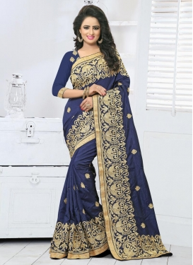 Superb Art Silk Contemporary Style Saree For Ceremonial