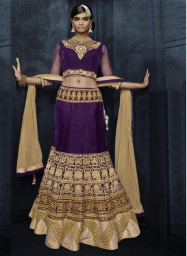 Superb Net Designer Lehenga Choli